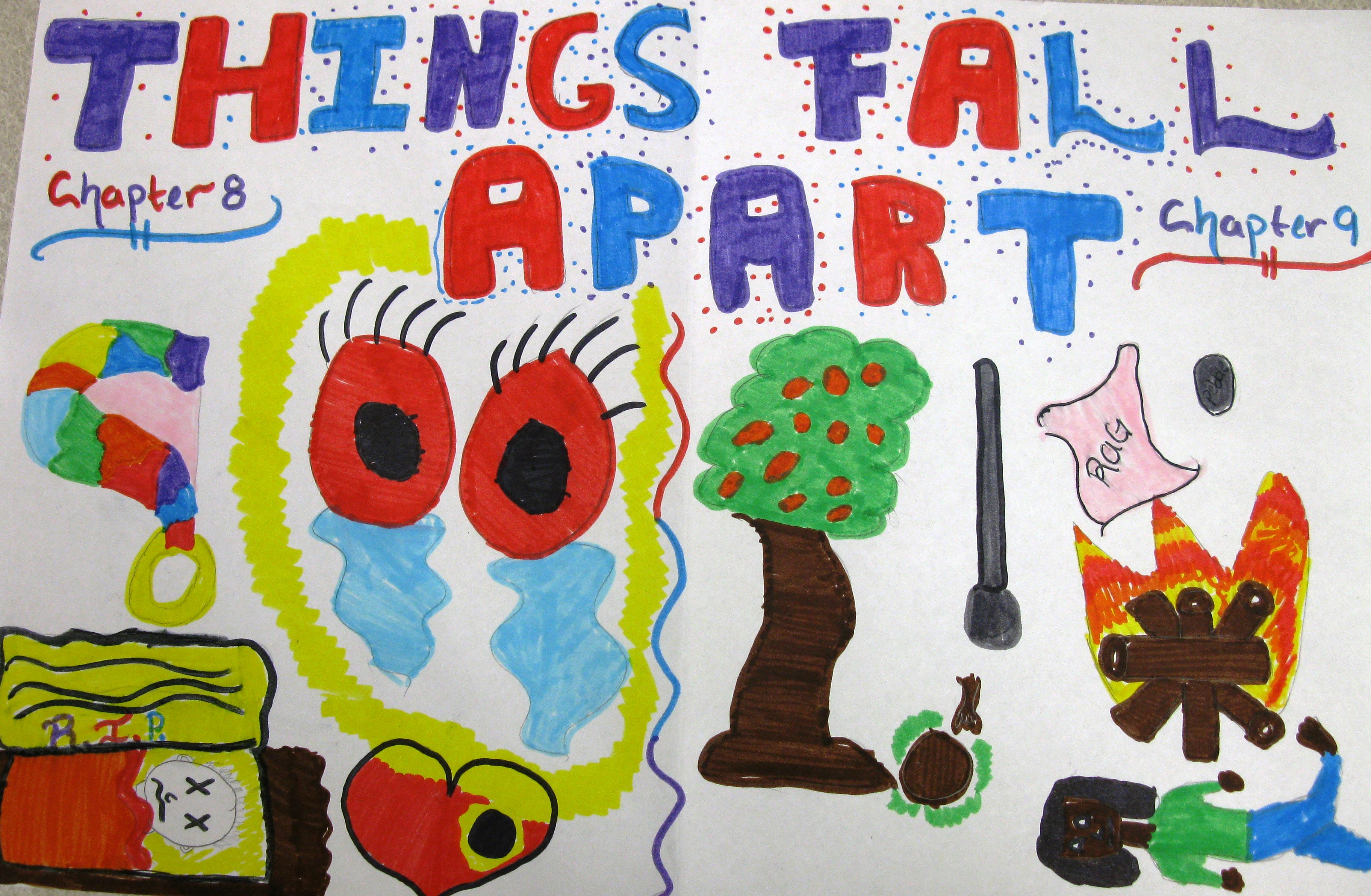 """things fall apart extended response I chose to use one of our summer reading books, """"things fall apart"""" by chinua   this is not an example of the work written by our professional essay writers."""